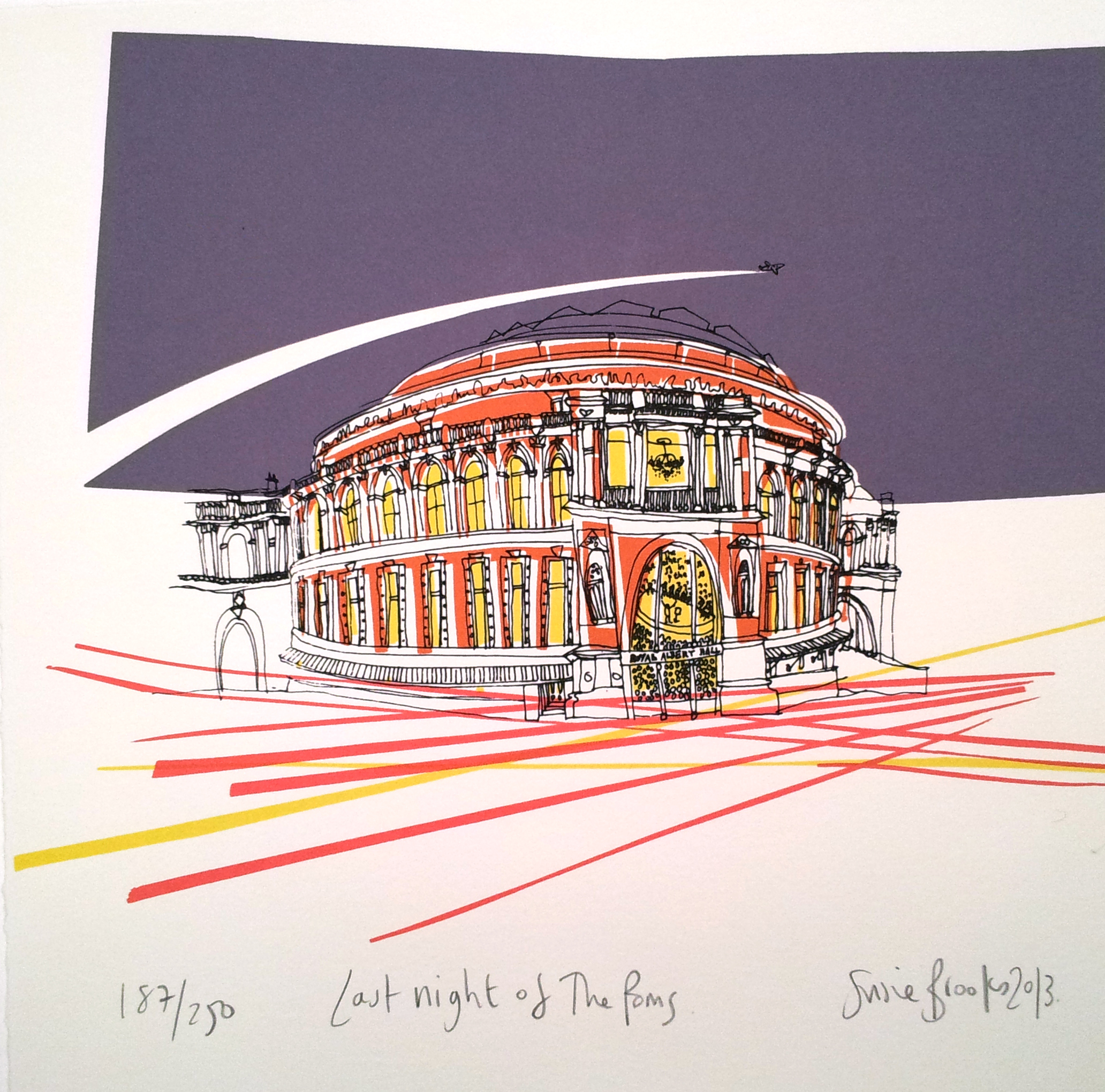 A Bluffer S Guide To Interior Design: Susie Brooks Last Night Of The Proms Screenprint Jpeg
