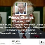 Prince Charles On Twitter profile
