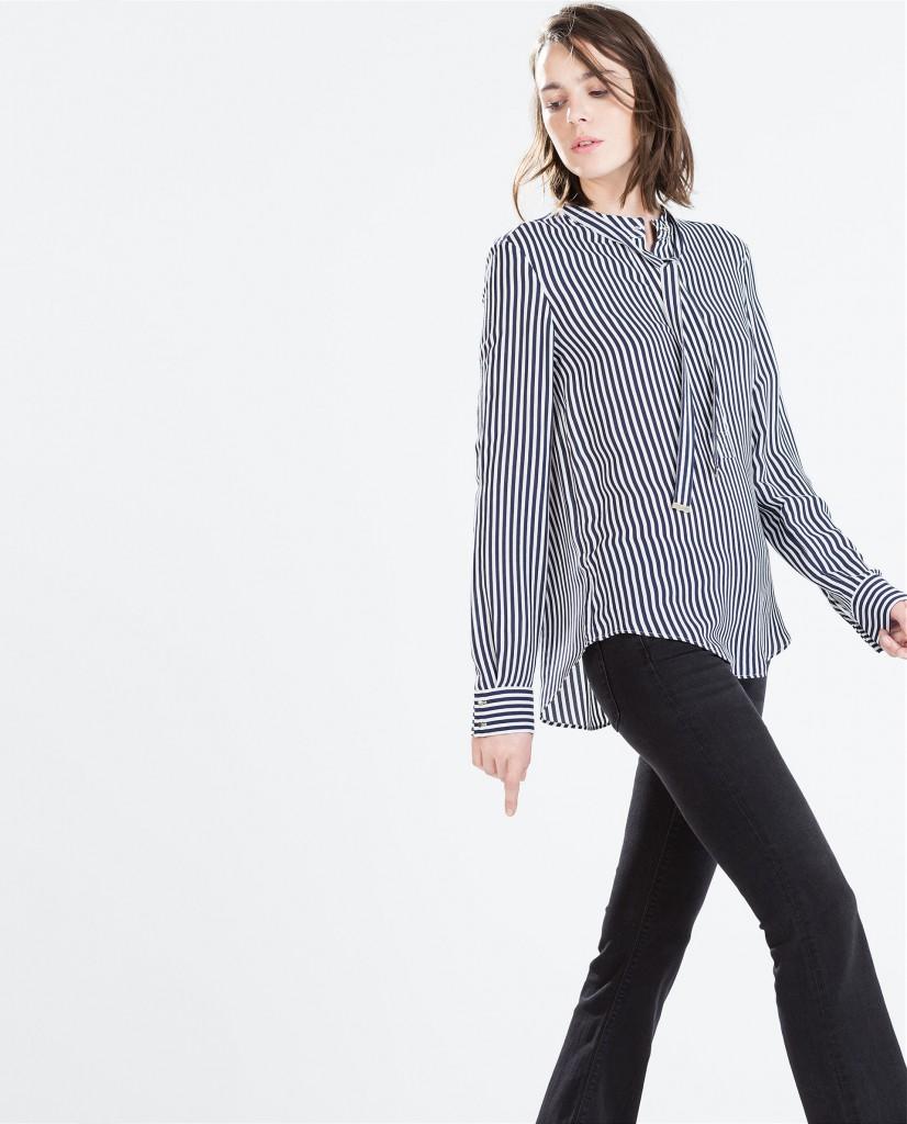 A Bluffer S Guide To Interior Design: 5 Zara Striped Blouse