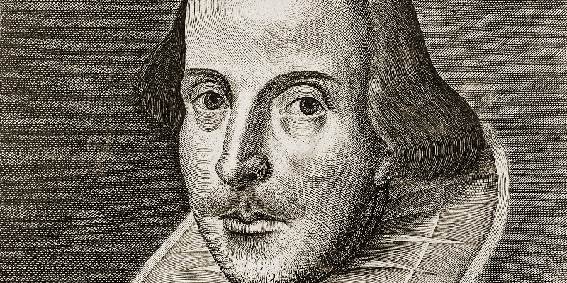 Shakespeare looking enigmatic