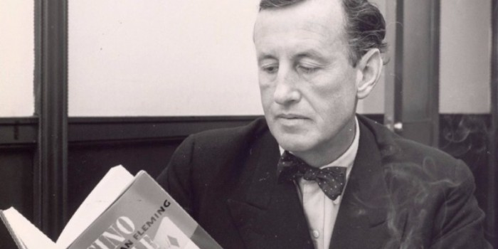 Ian Fleming reading Bond