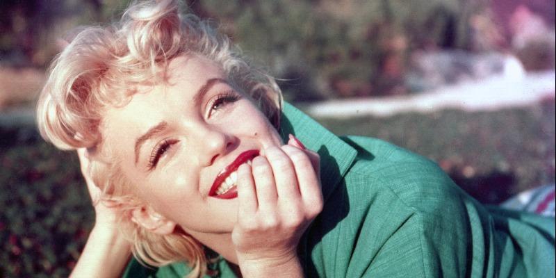 Marilyn Monroe looking delightful